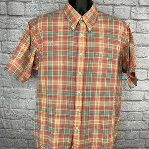 Pendleton XL Short Sleeve Multicolor Plaid Shirt
